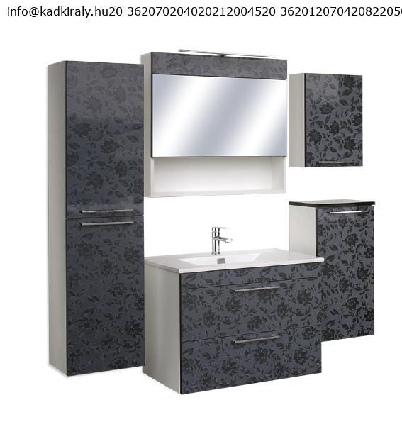Guido Prémium Lux EDUARDO fürdőszoba szekrény, komplett ...