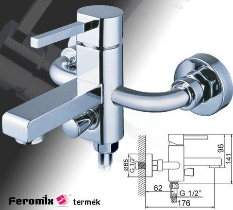 Feromix Art-Line Kád zuhanyszett nélkül 55215.1