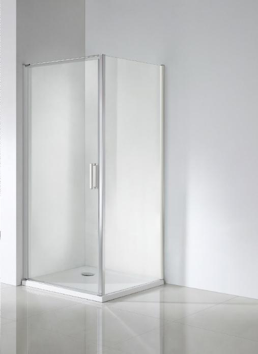 Wellis Quadrum 90x90x190cm egy nyílóajtós szögletes zuhanykabin