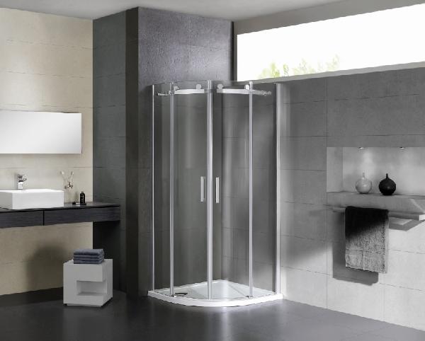 Wellis Virgo 90x90x195cm két tolóajtós íves zuhanykabin