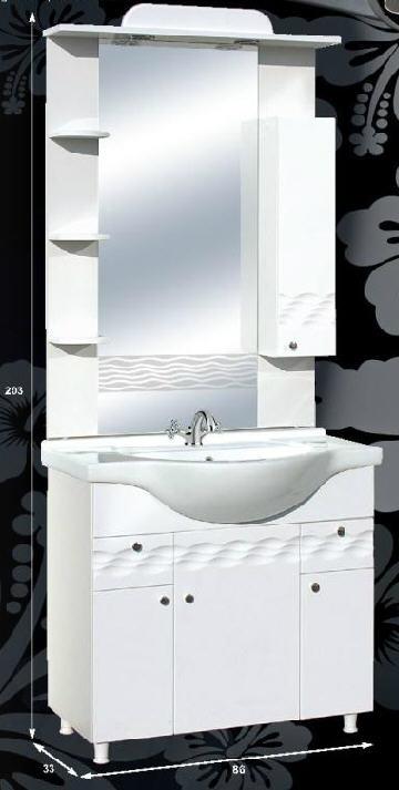 """Guido PORCELÁN """"ÓCEÁN 86"""" fürdőszoba bútor, komplett - több színben rendelhető"""