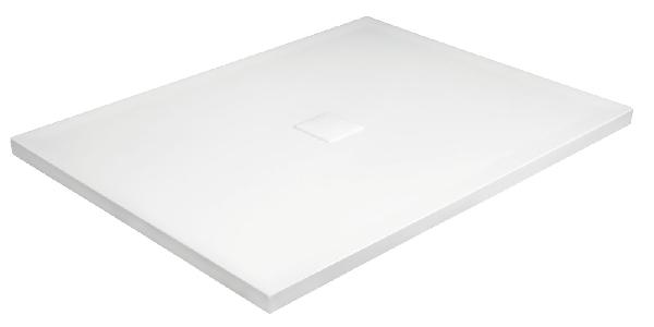 Niagara Wellness SIA-R / NOX ULTRASLIM 100x80x3,5 cm öntött márvány zuhanytálca