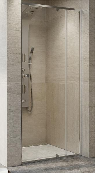 SANIMIX Beépíthető zuhanyajtó állítható szélesség 760-910 mm között 1850 mm magas 22.011  INGYEN SZÁLLÍTÁSSAL