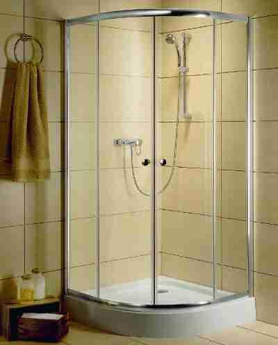 Radaway Classic A 90x90/185 íves zuhanykabin