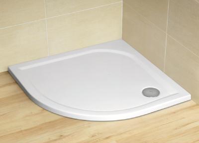 Radaway Delos A 80 íves akril zuhanytálca 90 szifonnal