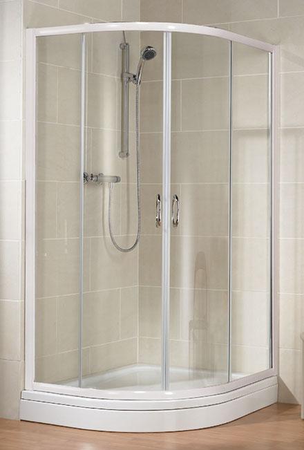 HSK Top negyedköríves zuhanykabin 90x90x185 cm