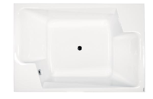M-acryl Grande 190x125 különleges kád + láb