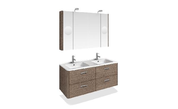 Tboss Akciós TORINO SZETT 120 fürdőszobabútor