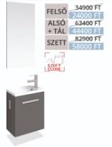Tboss  Lux 40 Akciós SZETT fürdőszobabútor