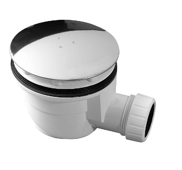 Zuhanytálca szifon 90 mm, ABS, króm (1711C)