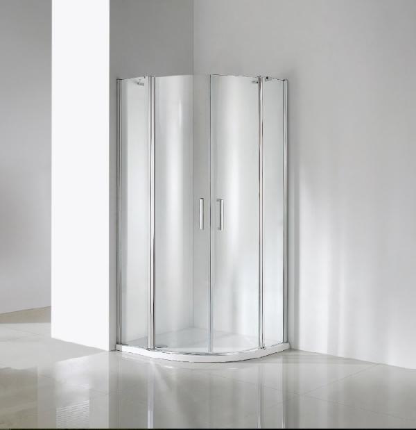 Wellis Scorpio 90x90x190cm két nyílóajtós íves zuhanykabin