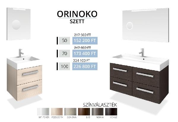Tboss Akciós MARMITE ORINOKO SZETT 50 fürdőszobabútor