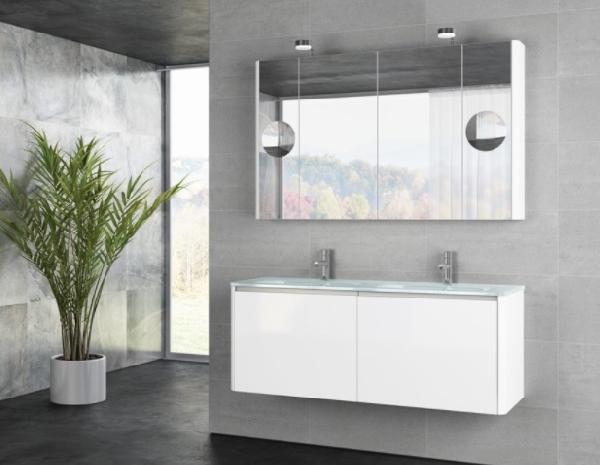 Tboss Akciós SOFT GLASS SZETT 90 fürdőszobabútor