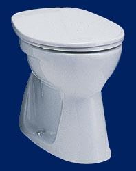 Alföldi Bázis laposöblítésű alsó kifolyású WC, fehér 4032 00 xx