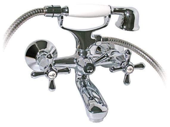 MOFÉM TREFF Kádtöltő csaptelep antica zuhanyszettel 141-0013-30
