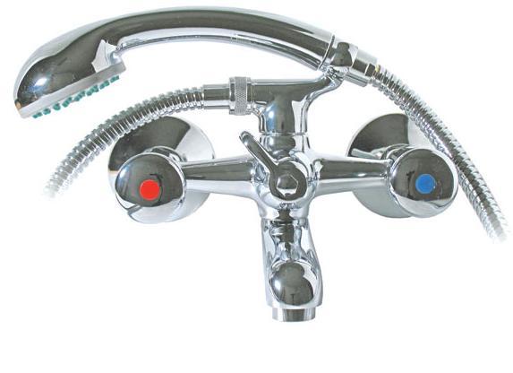 MOFÉM EUROSZTÁR Kádtöltő csaptelep basic zuhanyszettel 141-0094-00