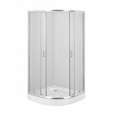 Deante Funkia íves zuhanykabin 80 cm KYP_052K