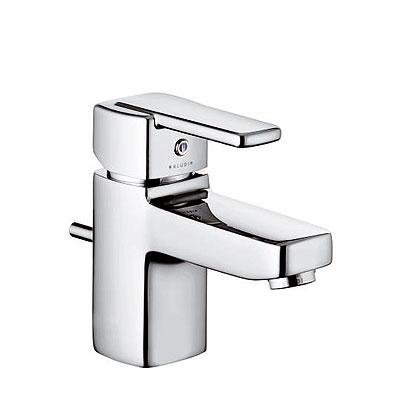 Kludi Q-Beo egykaros mosdó csaptelep kézmosóhoz, autómata leeresztővel 501290575