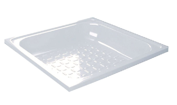 Aqualine lemez zuhanytálca 70x70x12 cm,fehér (PD70X70)