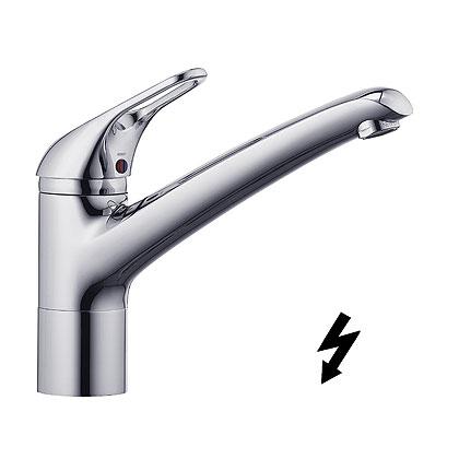Kludi Komet Bajonettzáras, egykaros mosogatócsaptelep, nyílt rendszerű elektromos vízmelegítőhöz 337930562