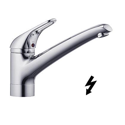 Kludi Komet Egykaros fali mosogatócsaptelep, nyílt rendszerű elektromos vízmelegítőhöz 337950562