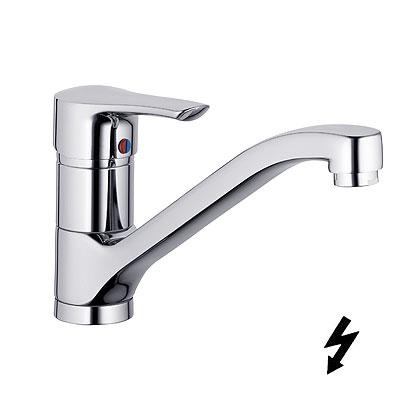 Kludi Tercio Egykaros mosogatócsaptelep, nyílt rendszerű elektromos vízmelegítőhöz 389590575