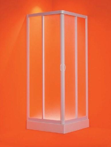 Olsen Spa Vela EX szögletes plexi zuhanykabin 65-70x65-70
