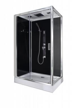 Sanotechnik TREND 3 hidromasszázs zuhanykabin elektronikával 80x120x210cm (CL72)