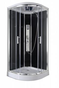Sanotechnik TREND 1 hidromasszázs zuhanykabin elektronikával 90x90x210cm (CL70)