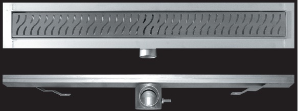 Zuhanyfolyóka alaptest kettős bűzzárral, szigetelő peremmel, magasság: 80 mm   Méret: 780mm