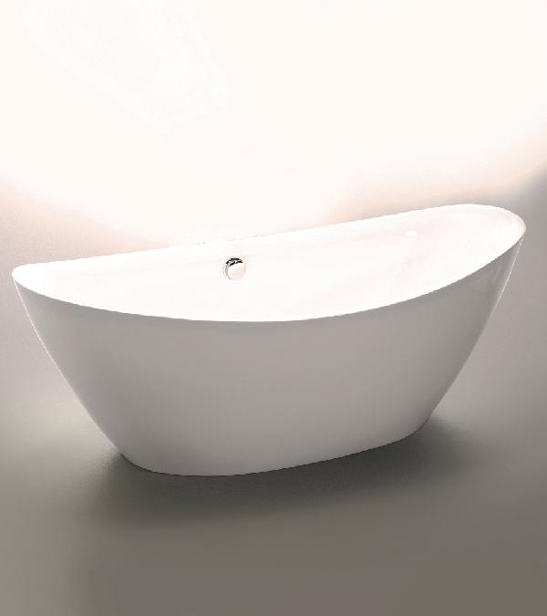 Wellis Arezzo white szabadon álló akril kád 180x87x65cm