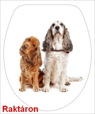 34-BRH Kutyák Duroplast WC-ülőke
