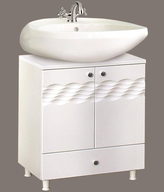 Guido ÓCEÁN 1007 mosdó alá, alsó tolható fiókos fürdőszoba bútor - több színben rendelhető
