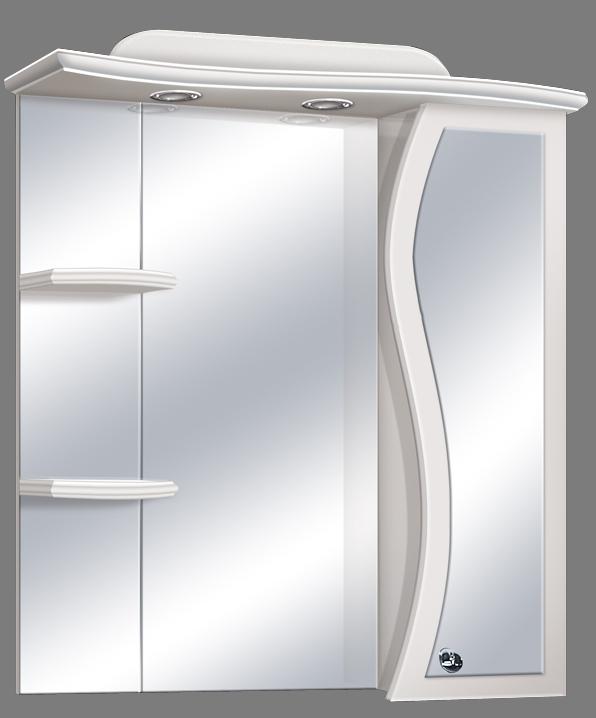 """Guido """"S modell"""" 1004 felső,tükrös fürdőszoba bútor - több színben rendelhető"""