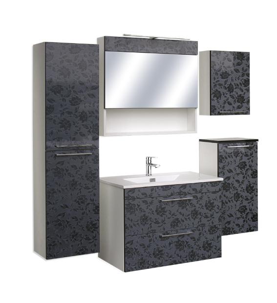 """Guido """"Prémium Lux"""" EDUARDO 60cm fürdőszoba szekrény, komplett  - több színben rendelhető"""