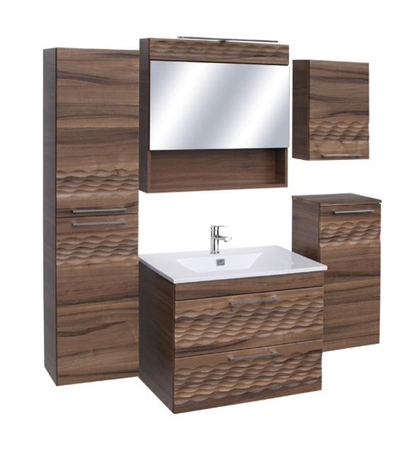 """Guido """"Premium modell"""" fürdőszoba szekrény, komplett (60cm szett) - több színben rendelhető"""