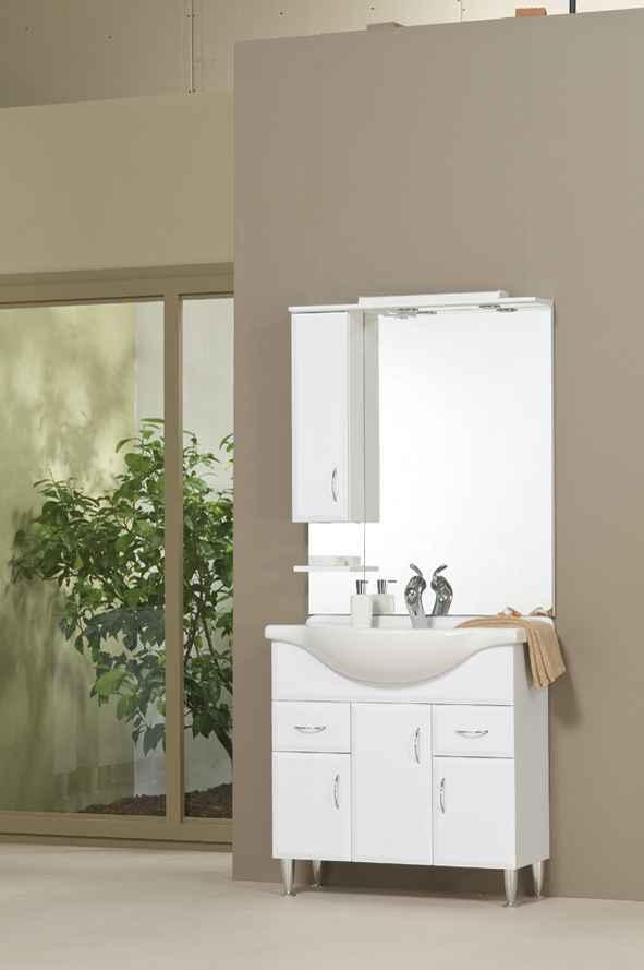 Bianka 85 fürdőszobabútor komplett