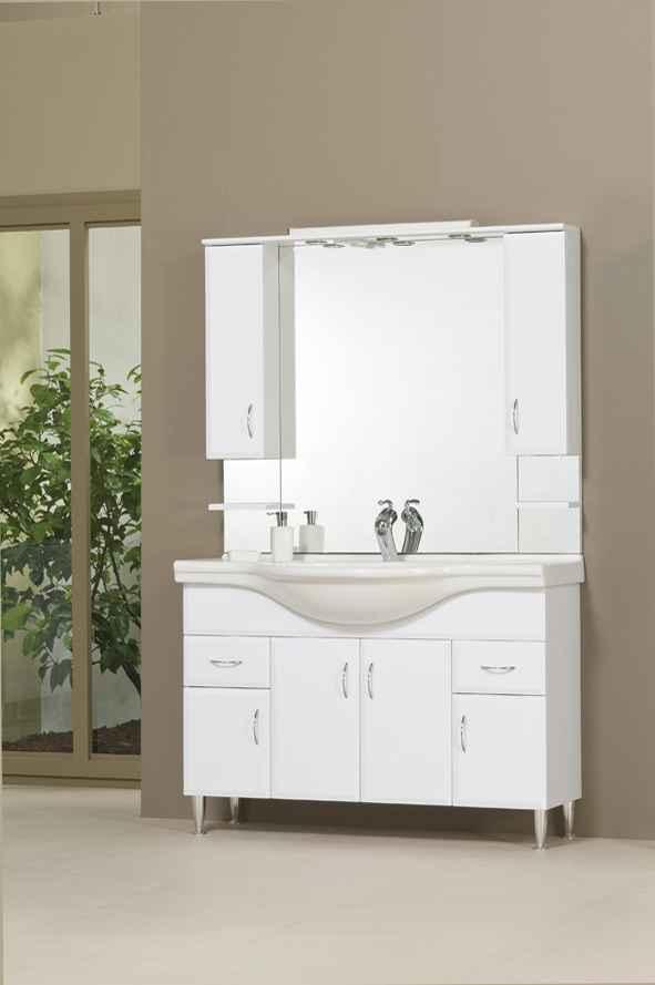 Bianka 120 fürdőszobabútor komplett