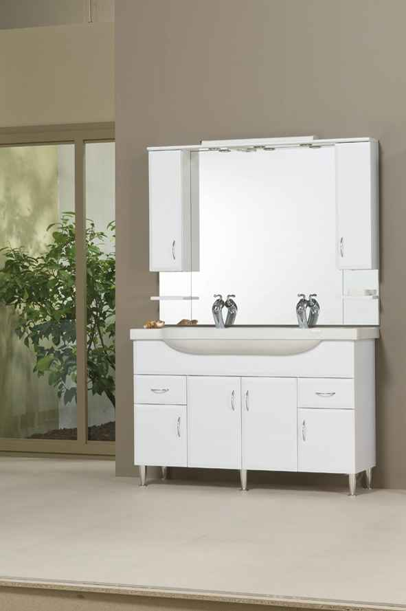 Bianka 130 fürdőszobabútor komplett