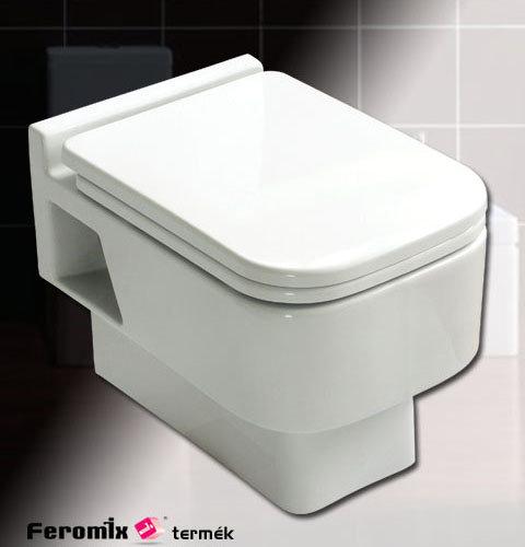 Feromix Riva fali wc tető nélkül R-C348WH