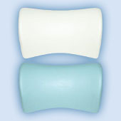 M-acryl Samanta fejpárna - fehér/ezüst/fekete