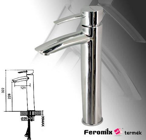 Feromix Adesso magasított mosdó csaptelep 150340.1 - Kifutó termék, a készlet erejéig