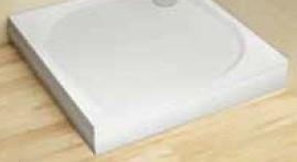 Radaway Paros C 90 szögletes előlap  zuhanytálcához