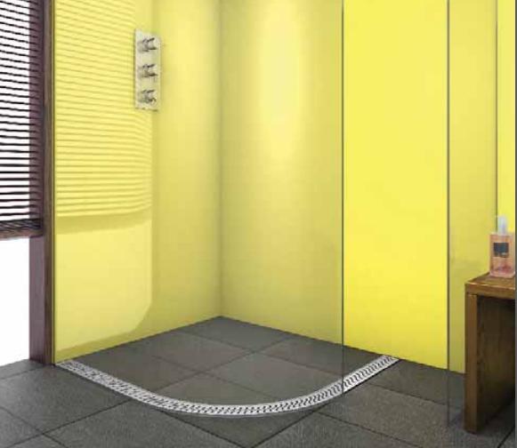 Riho Íves zuhanyfolyóka 90*90 r55cm exclusive
