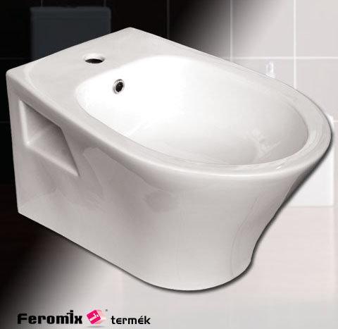 Feromix Moda függesztett bidet csésze M-B357WH