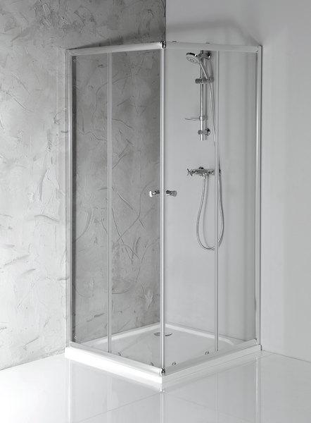 Aqualine AGGA szögletes zuhanykabin 90x90x185 cm (HLF909)