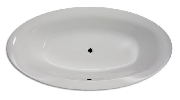 Hopa Bologna II méret 1900 × 950 mm, térfogat 250 l