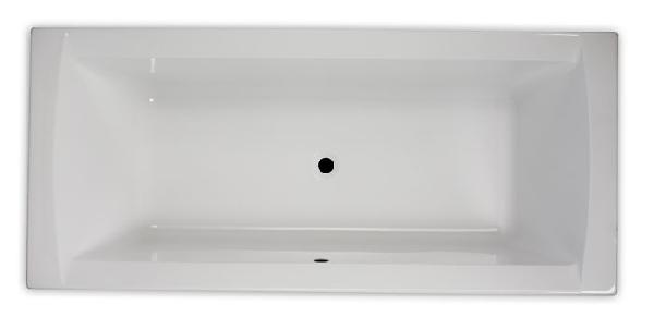 Hopa Ancona méret 1800 × 800 mm, térfogat 180 l akril