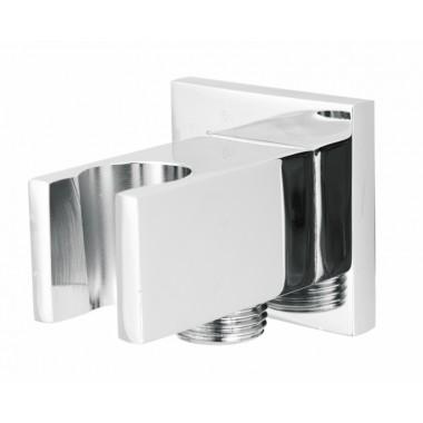 Deante Cascada szögletes sarokszelep zuhanytartóval NAC_052K