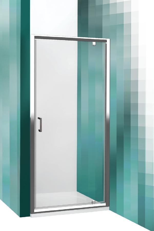 Roltechnik LEGA LINE egyszárnyas zuhanyajtó két fal közé (LLDO1/800)